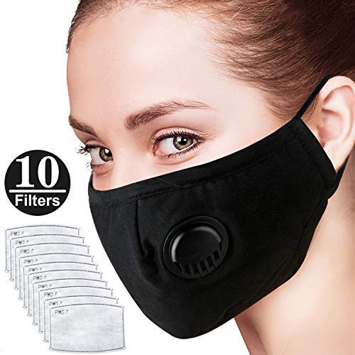 SANGDA Máscara Facial Filtro contaminación Aire