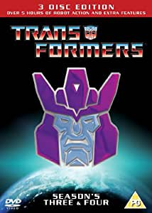 METRODOME ENTERTAINMENT Transformers - Season 3 And 4 [DVD]