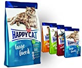 Happy Cat Adult Large Breed 10 kg + 4 x 300g