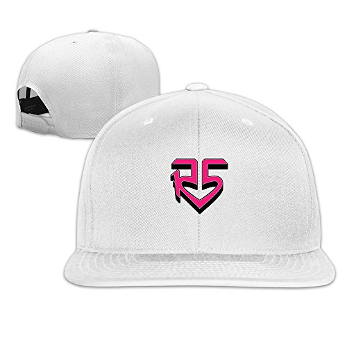 minucm-pop-rock-band-r5-pink-logo-louder-ross-lynch-snapback-hats