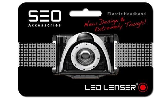 LED Lenser 0375 Kopfband, Acryl, grau, 12.90 x 10.0 x 2.0 cm (Unisex-bands Head)