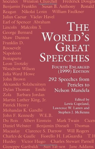 The World's Great Speeches: Fourth Enlarged (1999) Edition (1999-09-21)