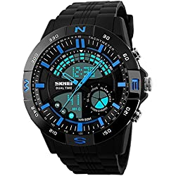 Skmei Analog-Digital Multicolor Dial Men's Watch -HMWA05S088C0