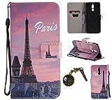 Hülle Mate10 Lite Hülle,PU Leder Flip Hülle für Huawei Mate 10 Lite Tasche Case Cover Schutzhülle Handyhülle # (3)