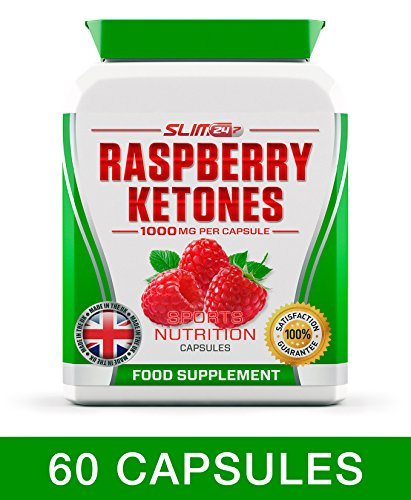 RASPBERRY KETONES x60 + COLON CLEANSE x60 – Max Strength Fat Burners and Colon Cleanse DETOX Capsules – Slimming Diet Pills | Suppress Appetite, Boost Metabolism and Increase Energy for Weight Loss