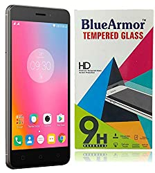 BlueArmor HD Clear Tempered Glass Screen Guard Protector for Lenovo K6 Power