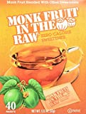 In The Raw - Monk Fruit In The Raw Natural Sweetener - 40 Packet(s), 1.12 oz (32g) by Sugar in the Raw