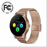 Smartband Smartwatch Sport Intelligente Uhr,Herzfrequenzmesser,Schrittzähler,Schlaf-Monitor,Aktivitätstracker,Anrufen/SMS,finden Telefon Smart Watch für samsung/huawei/sony/apple