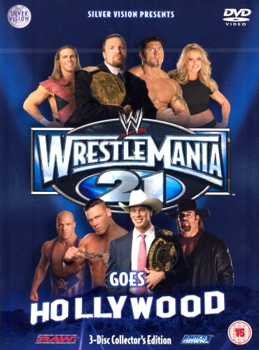 WWE - Wrestlemania 21 [3 DVDs] [UK Import] Wrestlemania 3 Dvd