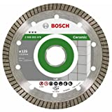 Bosch 2 608 602 479  - Disco de corte de diamante Best for Ceramic Extra-Clean Turbo - 125 x 22,23 x 1,4 x 7 mm (pack de 1)