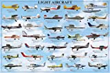 empireposter - Educational - Bildung - General Aviation - Light Flugzeuge - Größe (cm),ca. 91,5x61 - Poster, NEU - Version in Englisch