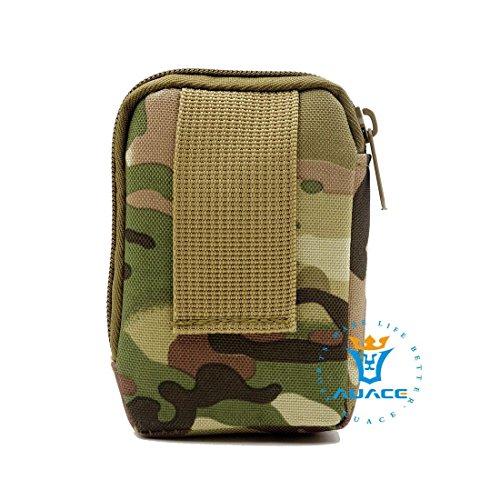 Multifunzione sopravvivenza Gear Tactical marsupio Molle Pouch portamonete portamonete per biglietti, strumento di campeggio esterna portatile di viaggio borse borse borse CP