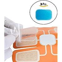 ABS Stimulateur musculaire Toner de gel abdominaux Coussinets d'accessoires 20pcs pour gel Pad