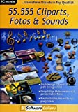 55.555 Cliparts, Fotos & Sounds (DVD-ROM)