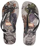 Havaianas Top Marvel, Infradito Unisex-Adulto, Multicolore (Ice Grey 3498), 47/48 EU