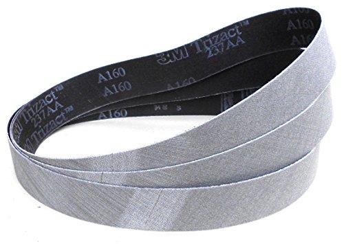 Banda de lija para cuchillos 3M Trizact 337DC CF grano a elegir 50 x 1500 mm 1 unidad Trizact 337DC CF