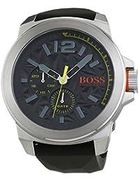 BOSS Orange Herren-Armbanduhr NEW YORK Multieye Analog Quarz Silikon 1513347