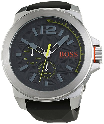 Boss Orange 1513347 Men's Watch New York Multieye Analogue Quartz Silicone
