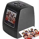 Scanner per foto ad alta risoluzione fotografica ad alta risoluzione 35mm / 135mm Scanner per pellicole digitali Convertitore per film USB digitale Schermo LCD da 2,36
