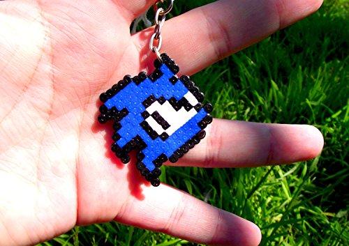 Schlüsselanhänger Sonic - Tails - Knuckles • Hama Beads • Pixel Art • Perler Beads • Artkal • Fuse beads • Beads sprite