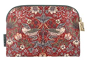Morris & Co Strawberry Theif Trousse à maquillage Taille S