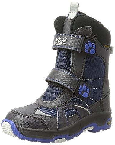 Jack Wolfskin Jungen Boys Polar Bear Texapore Schneestiefel, Blau (Vibrant Blue), 30 EU