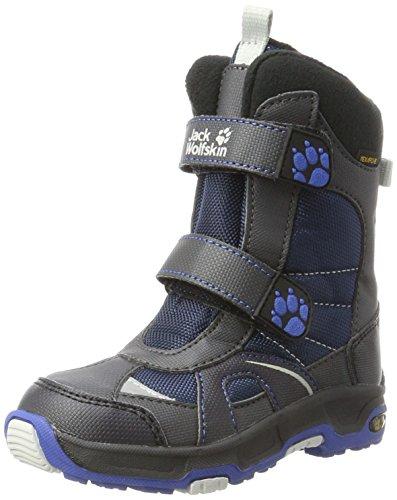 Jack Wolfskin Jungen Boys Polar Bear Texapore Schneestiefel, Blau (Vibrant Blue), 29 (Stiefel Jungen Kinder)