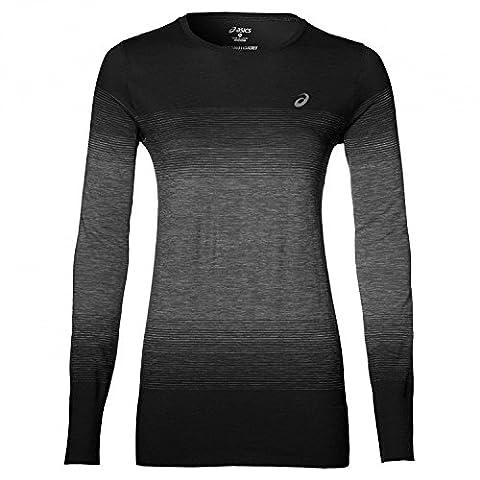 ASICS Performance Damen Laufshirt schwarz