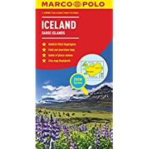 Iceland Map (Marco Polo)