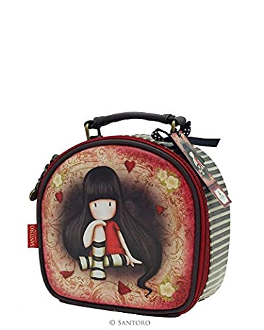 Gorjuss The Collector Cosmetic Beauty Vanity Case 18x18x8 cms