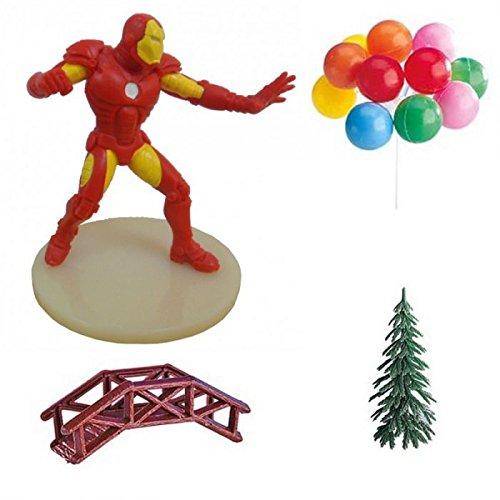 (Generique - Iron Man Kuchen Dekorationen)