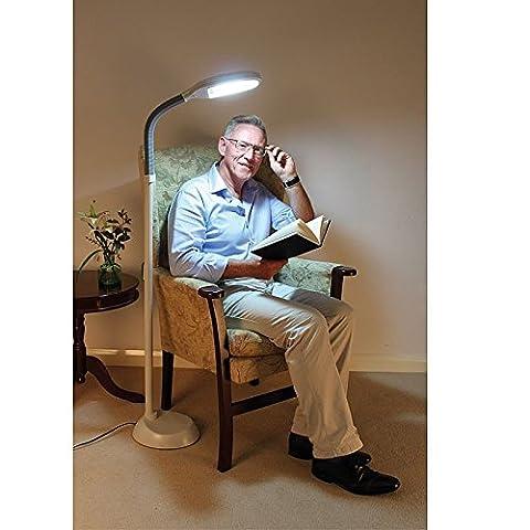 Daylight Energy-saving Full Spectrum 27W Fluorescent Reading Floor Lamp
