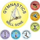 Gymnastics Praise Stickers - Clubs, sports, athletics