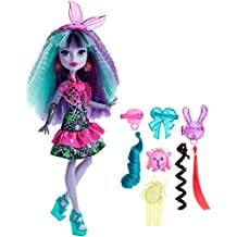 Monster High DVH71 - Bambola Look Elettrizzante Twyla
