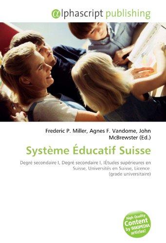 Système Éducatif Suisse: Degré secondaire I, Degré secondaire I, IÉtudes supérieures en Suisse, Universités en Suisse, Licence  (grade universitaire)