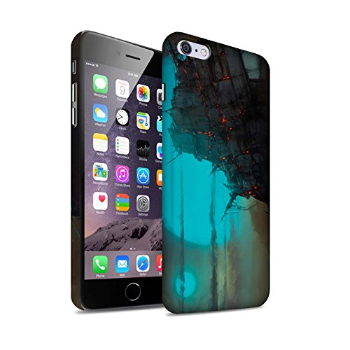 Offiziell Chris Cold Hülle / Matte Snap-On Case für Apple iPhone 6S+/Plus / Gift Haupt Muster / Gefallene Erde Kollektion Gift Haupt