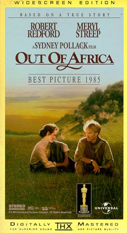 Buchcover Out of Africa [VHS]