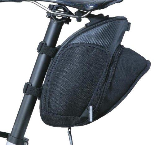 TOPEAK Mondo Pack mit Fixer F25mit ausziehbar Gesäßtasche, 12,6x 5.1x 16cm - Topeak Schlauch-tasche