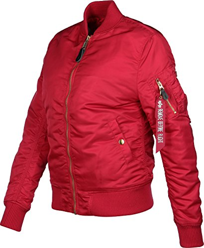 Alpha Industries Damen Jacken / Bomberjacke Ma-1VF Pm Rot