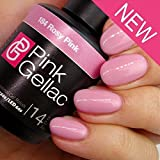 Pink Gellac Rosy Pink Gel Nail Polish