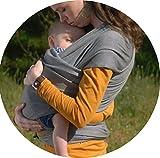 Babytragetuch ✮ elastisches Tragetuch Baby Carrier ✮ Tragetücher für Männer und Frauen ● Babytragen babytuch ● Halten Sie Ihr Baby am Herzen liegt - 4