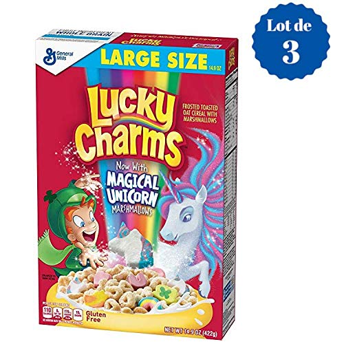 Lucky Charms Tri Pack 16 OZ (453g) x 3