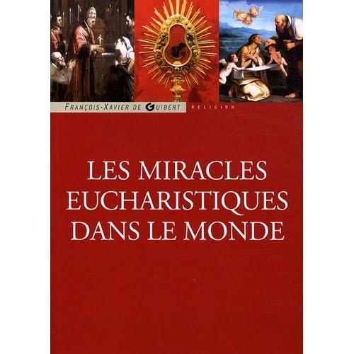 Les miracles eucharistiques dans le monde