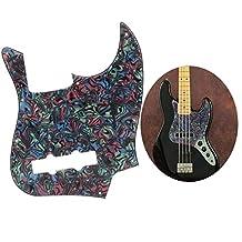 63mm Slagplaat voor elektrische gitaar Scratch Plate Beschermende slagplaat Compatibel met GQ110 elektrische basgitaar