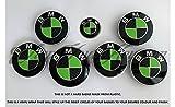 Schwarz & Giftig grün Carbon Badge Emblem Overlay puze Trunk Felgen passend für alle X Drive