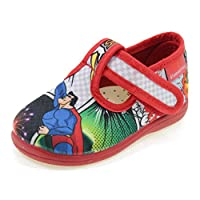DIAMANTINO Canvas Slippers with Superman OL1504S Multicolor Size: 18