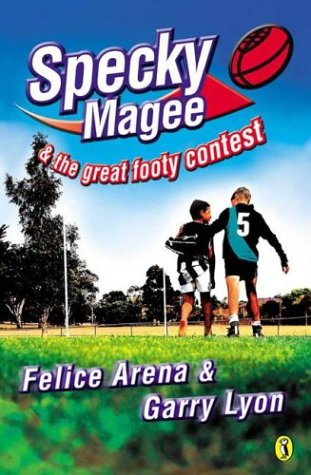 book cover of Specky Magee and the Great Footy Contest