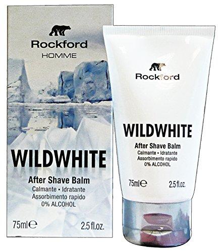 ROCKFORD Dopo Barba WILDWHITE BALM 75 Ml. Prodotti per Barba