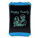 (Spätestes Upgrade) LCD Writing Tablet 8.5 Zoll-Schreibplatte Digital Schreibtafel Papierlos Grafiktablet Schreiben Tabletten für Kinder Schule Graffiti Malen Notizen Familie(Blau)