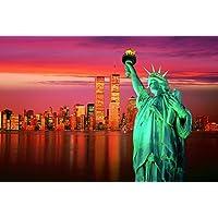 Comparador de precios Tomax Statue of Liberty 1000 Piece Glow-in-the-dark Jigsaw Puzzle by Tomax - precios baratos